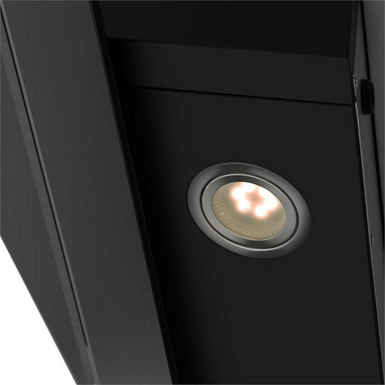 Sancta Clara 60, digestor, 60 cm, 620 m³/h, tabuľa, sklo, čierny