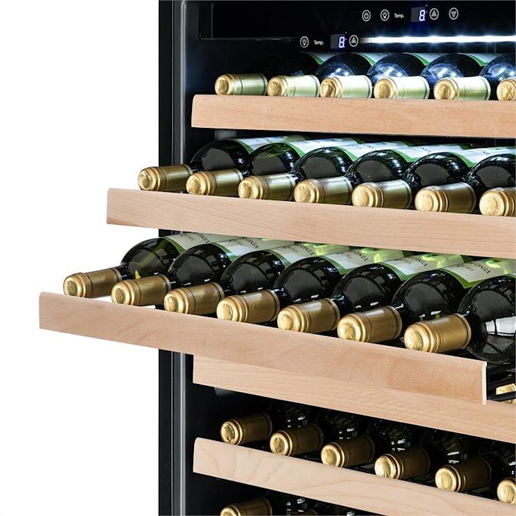 Botella Cura Weinkühlschrank 224 Flaschen LC-Display Carbon-Filter