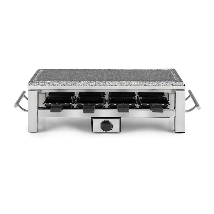 Schmelzlette Raclette 1500 W, deska z přírodního kamene, konstrukce z ušlechtilé oceli