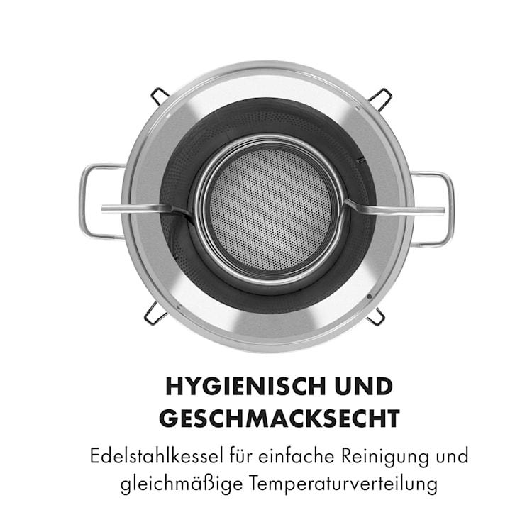 Maischfest Maischekessel 5 Teile 1500/3000W 25l LCD Touch 25 Ltr