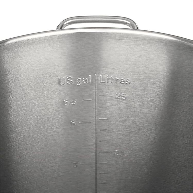 Maischfest tanque de fermentación 25 litros barril acero inoxidable 304 25 L