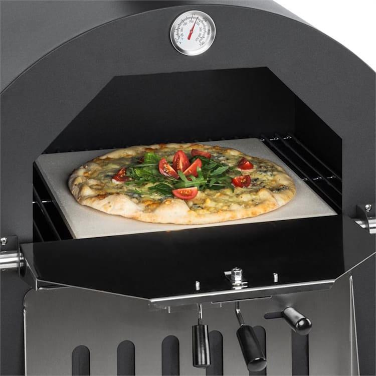 Pizzaiolo Perfetto pizzauuni 30,5 x 30,5cm aitokivi 1,2mm teräs siirrettävä