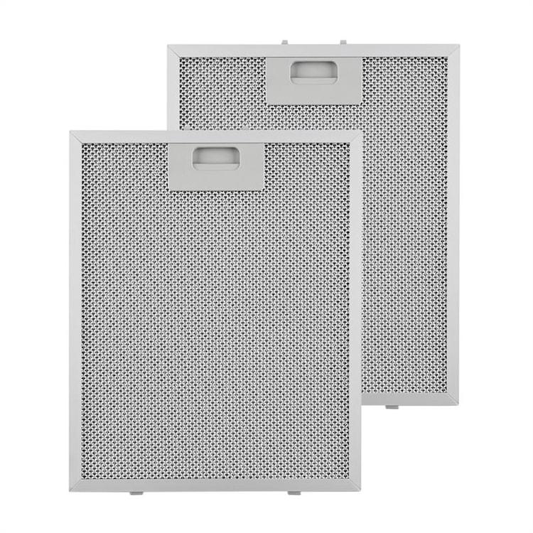 tukový filtr, náhradní filtr, hliník, 25,8x31,8 cm