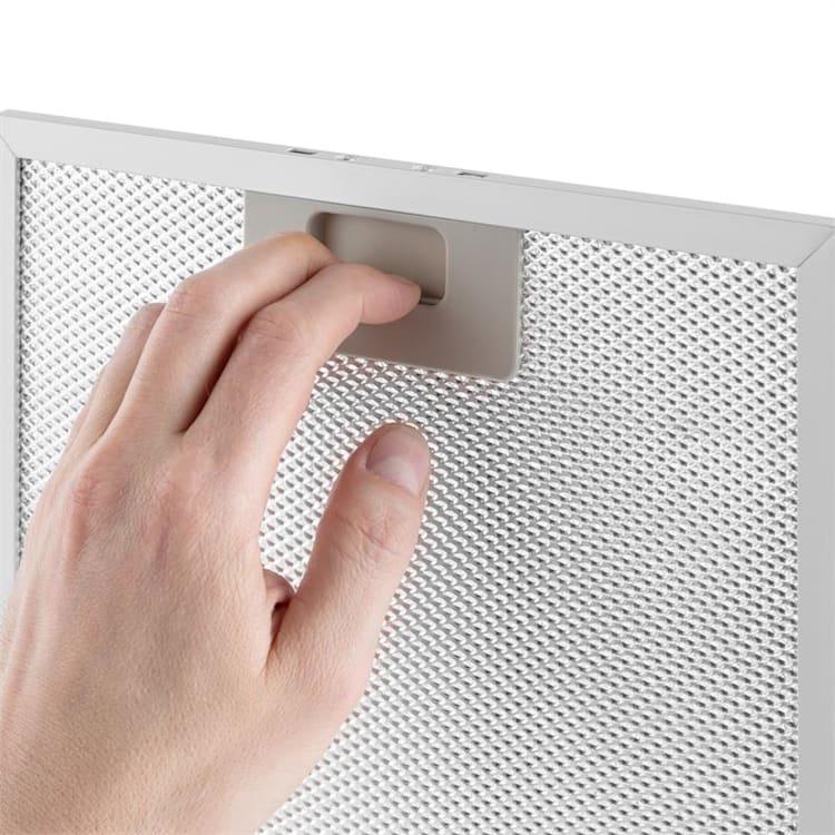 Filtro Antigrasso in Alluminio 23 x 26 cm Filtro di Ricambio Accessorio