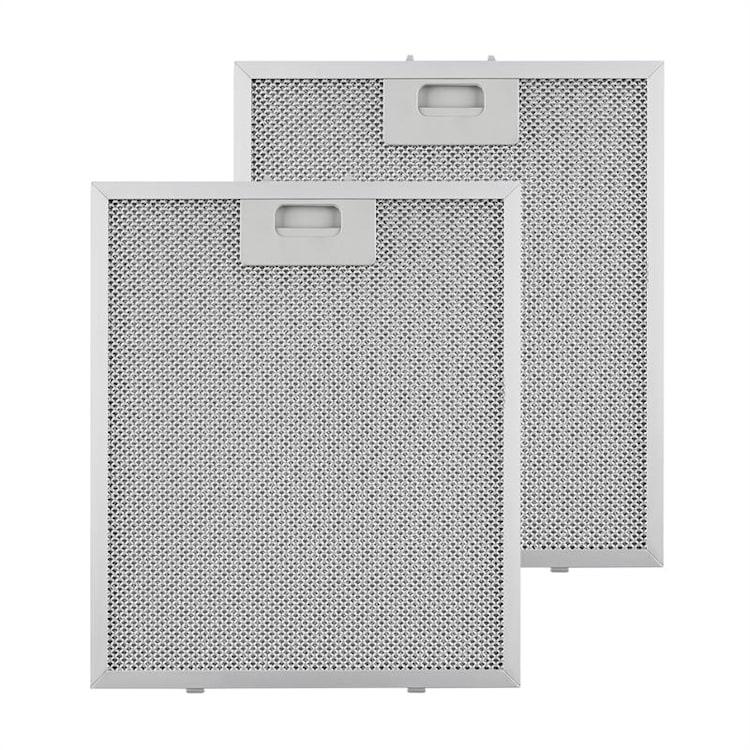 maščobni filter, dodatni filter, aluminij, 27,1 x 31,8 cm, 2 kosa, pripomočki