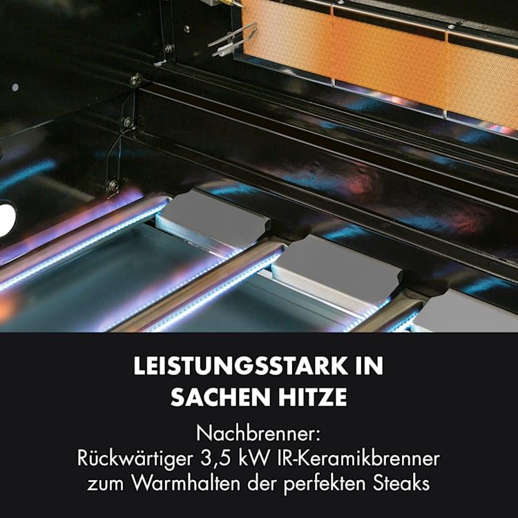Tomahawk 4.2 SBG Gasgrill 6 Brenner 20,7 kW 64x42cm Grill Edelstahl 6 Brenner