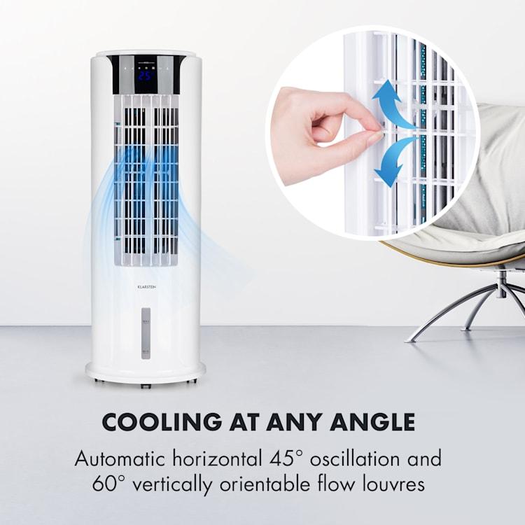 Skyscraper Horizon Air Cooler Fan 60W 486m³ / h 3.5L Tank White White