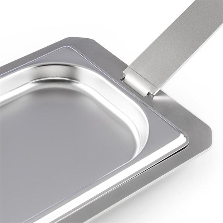 Kantinhållare tillbehör Steakreaktor 2.0 massiv hög kvalitet rostfritt stål