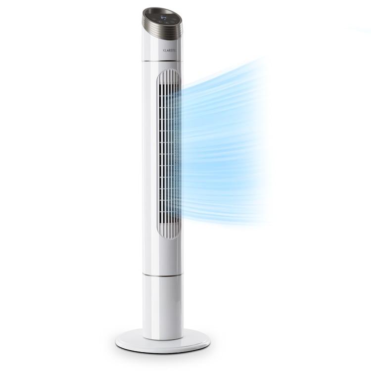 Sky High, torony ventilátor, 40 W, 276m³/óra, 75° oszcilláció, 3 üzemmód, fehér Fehér