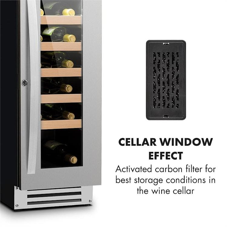 Aktivkohle-Filter für Weinkühlschränke | 9,9x4,9x1cm (BxHxT) | Ersatzfilter