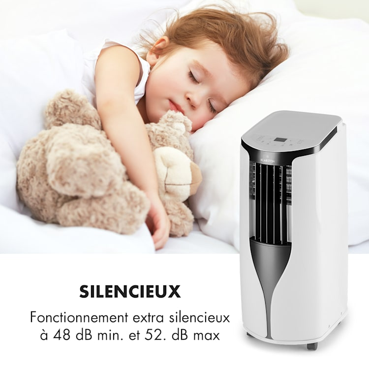 New Breeze ECO climatiseur mobile 10000 BTU/2,9 kW A+ blanc