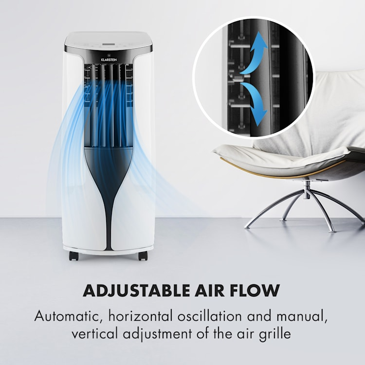 New Breeze ECO Mobile Air Conditioner 10,000 BTU / 2.9 kW A + White