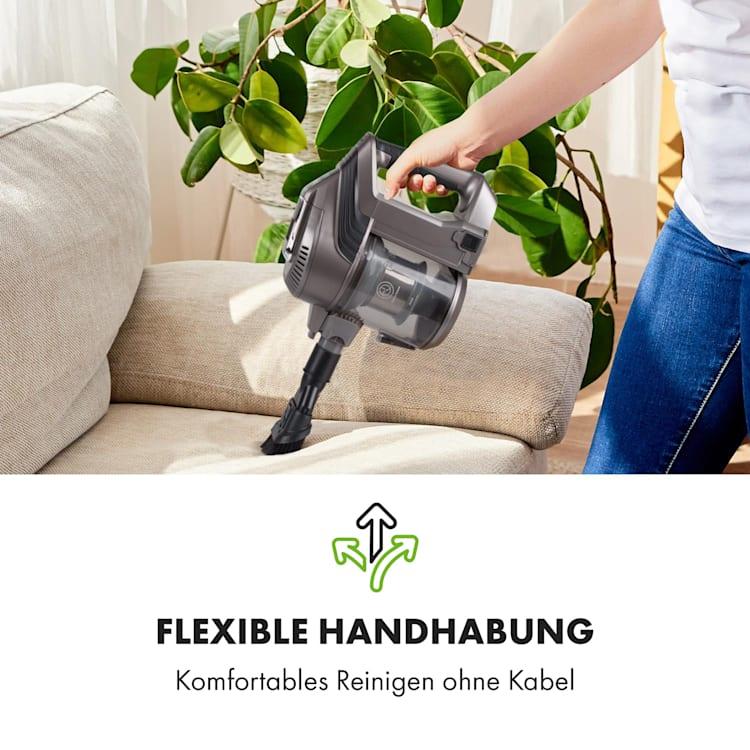 Cleanbutler 3G Turbo Akku-Staubsauger 0,7l HEPA13 anthrazit/schwarz Anthrazit