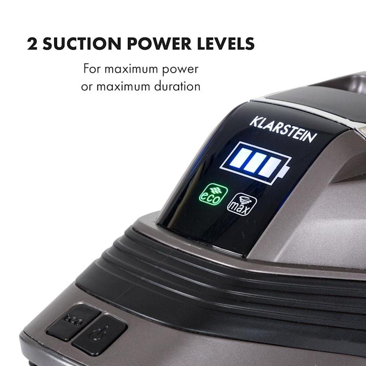 Cleanbutler 3G Turbo batteri-dammsugare 0,7l HEPA13 antracit/svart Antracit