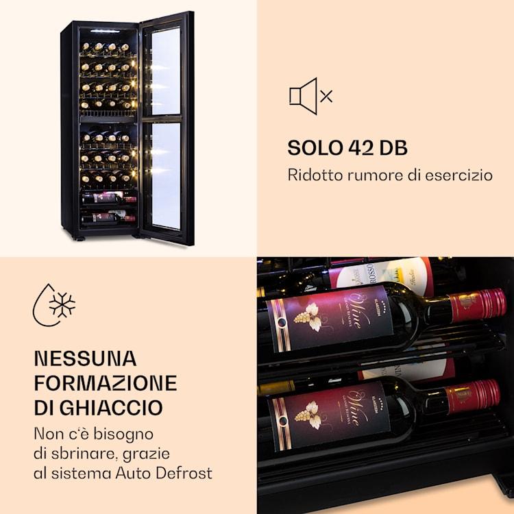 Shiraz 39 Duo Cantinetta vino 2 zone 105l 39 bottiglie 39 bottiglie