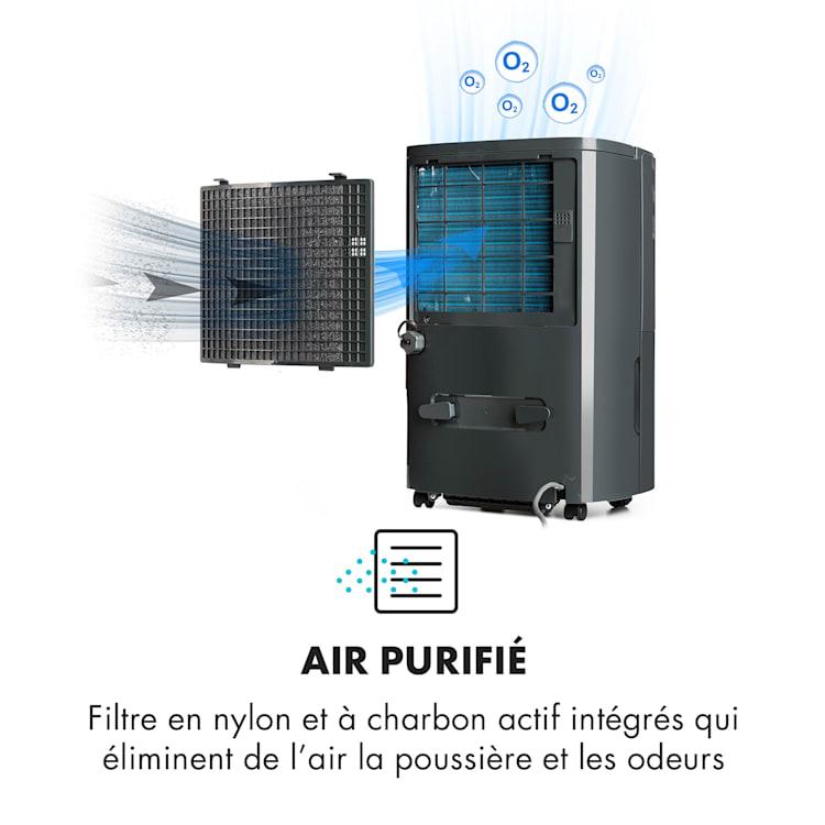 DryFy20 Déshumidificateur 420 W 20 l/j 230 m³/h 40-50 m² DrySelect 45 dB antharcite Anthracite | 20 l /24 h