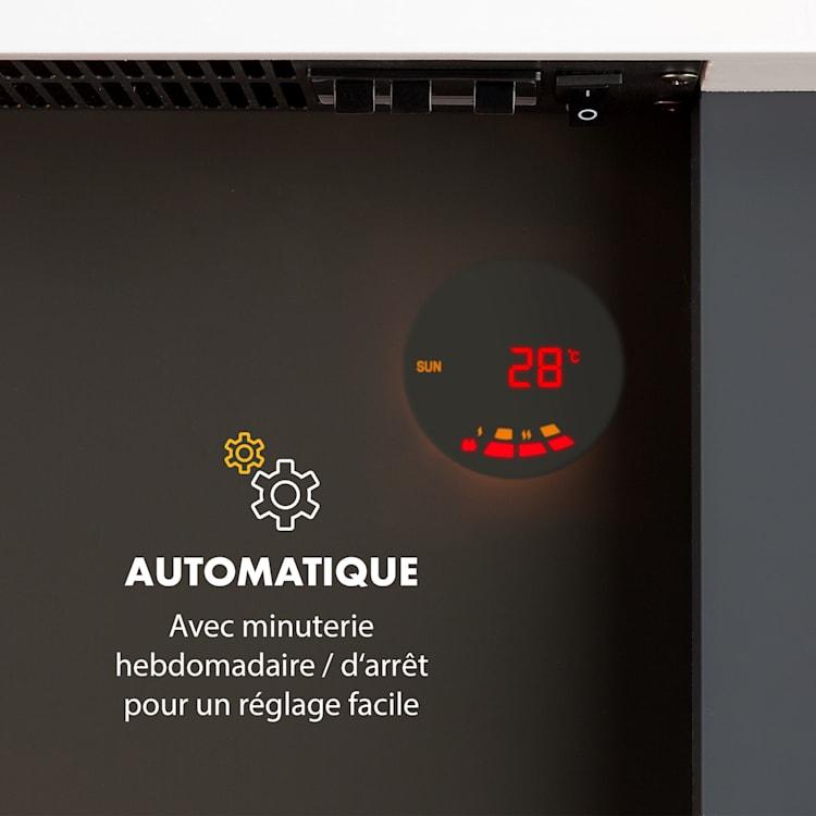Studio Light & Fire 1 cheminée 1000/2000 W MDF télécommande blanche Fire 1