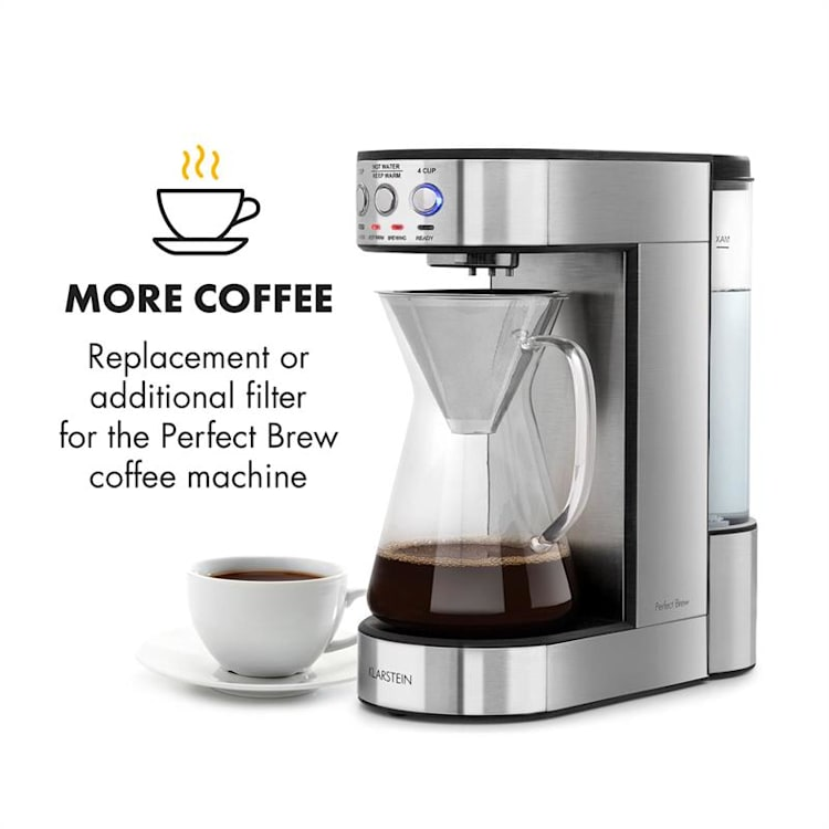 Perfect Brew Kaffeefilter Zubehör Ersatz Edelstahl