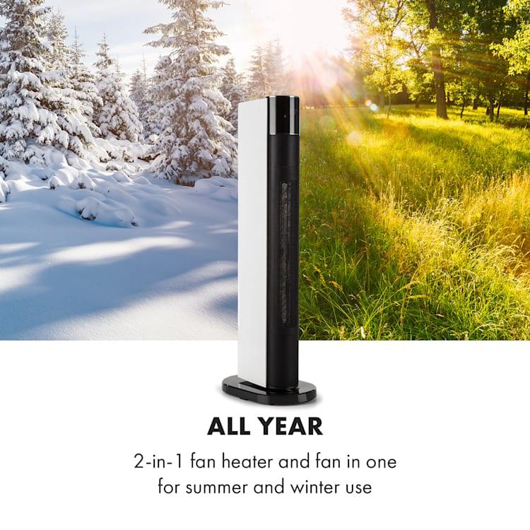Hightower Heat Deluxe, колона печка вентилатор, 2200 W, термостат