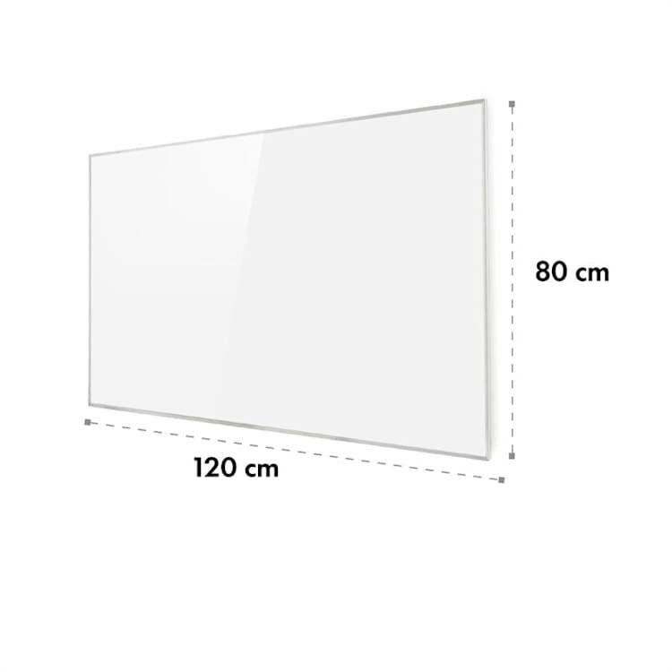Wonderwall 96, infrapanel, infračervený výhrevný panel, 80 x 120 cm, 960 W, týždňový časovač, IP24, biely 960 W