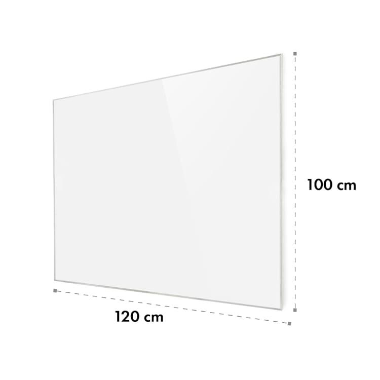 Wonderwall 120, infracrvena grijalica, 100 x 120 cm, 960 W, tjedni timer, IP24, bijela 1200 W