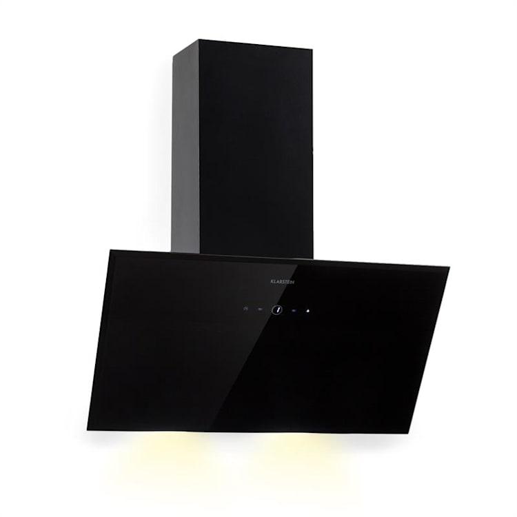 Laurel 60 Hotte aspirante 60cm extraction 350 m³/h classe B - noire Noir | 60 cm