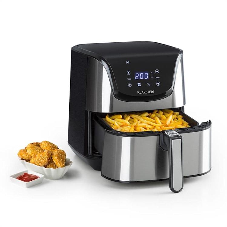 AeroVital Deluxe, friteuză cu aer cald, 1700 W, 5.4 l, oțel inoxidabil