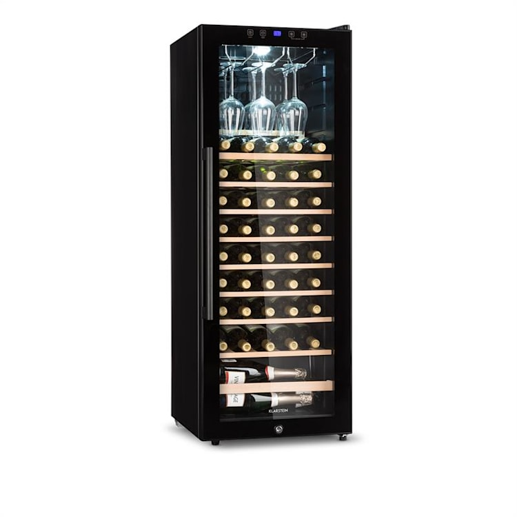 Barossa 54S Cave à vin 148L 54 bouteilles porte vitrée classe  148 L
