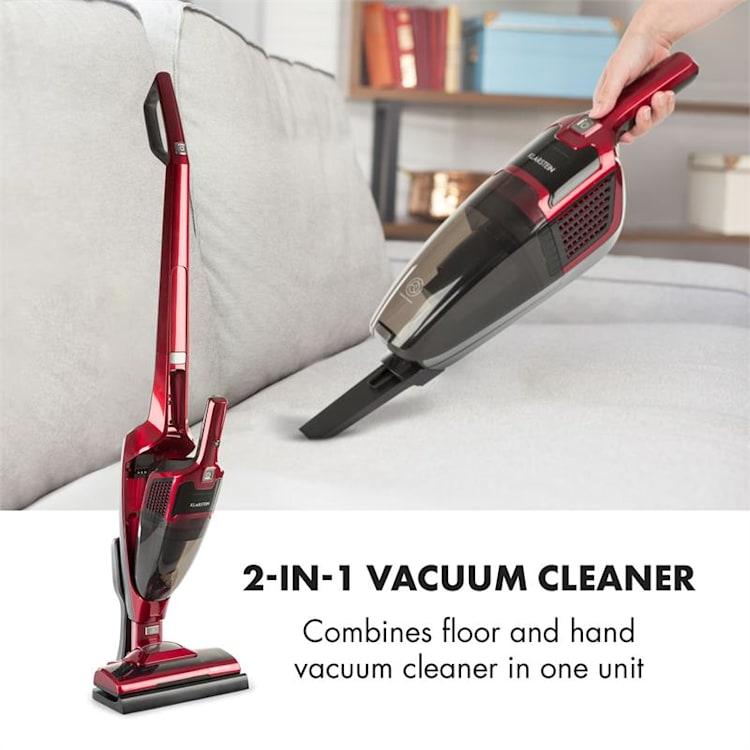 TurboHybrid Vacuum Cleaner Floor and Hand Vacuum Cleaner Metallic-Red Metallic