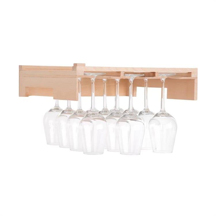 Barossa 77D wijnglashouder 3 inkepingen echt hout
