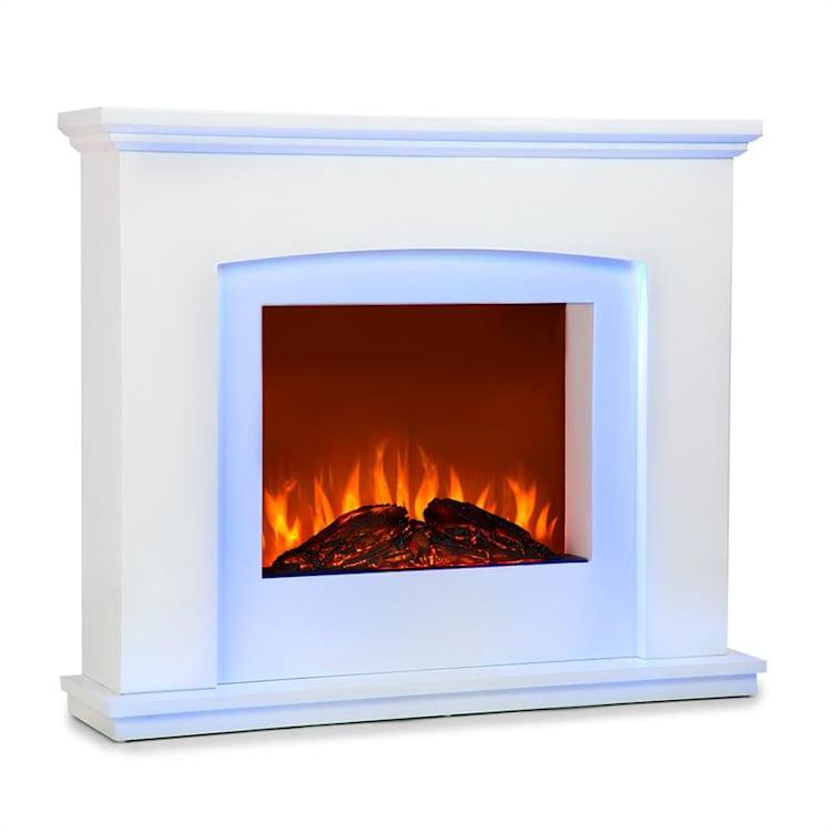 Aosta Light & Fire Electric Fire Fire Fireplace 1000/2000W Telecomando a distanza