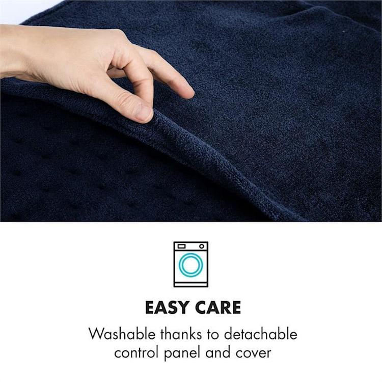 Dr. Watson Heatzone XL Tappeto Termico 100W 75x50cm MicroPlush blu scuro Blu Scuro