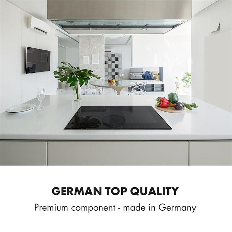 Delicatessa 60 built-in hob induction 4 zones 7000 W glass ceramic Black
