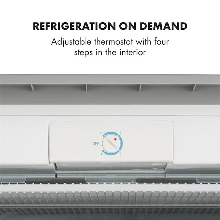 Garfield XL congélateur 75 l A+ Thermostat réglable argent Argent | 75 L