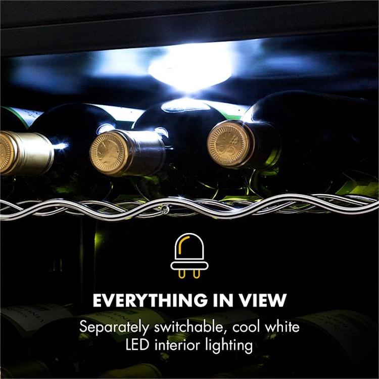Frigorífico Beersafe XL Mix It Edition 60 litros 4 Prateleiras Porta de vidro panorâmica