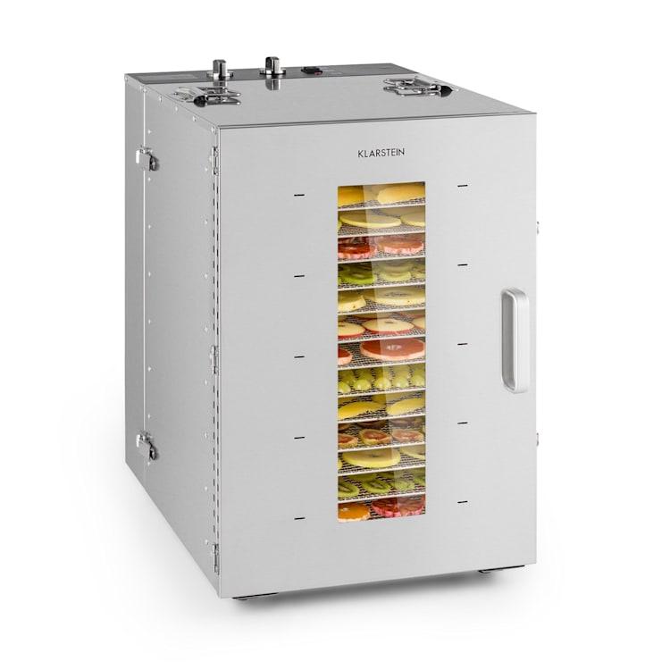 Master Jerky 16 droogautomaat 1500W 40-90°C 15h timer rvs zilver 16 stages