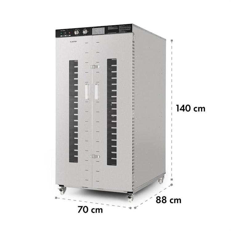 Master Jerky 24, sušilica hrane, 4500 W, 40 - 90 °C, 15h timer, konstrukcija od nehrđajućeg čelika, srebrna 24_stages