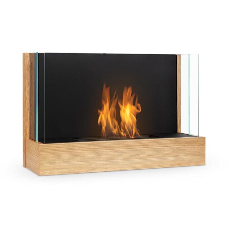 Phantasma Assemble caminetto a etanolo bruciatore d'acciaio inox aspetto legno