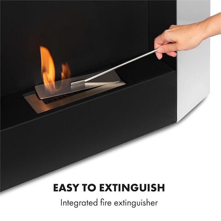 Phantasma Futur, etanolový krb, bez kouře, hořák z ušlechtilé oceli, 2 hod., ušlechtilá ocel