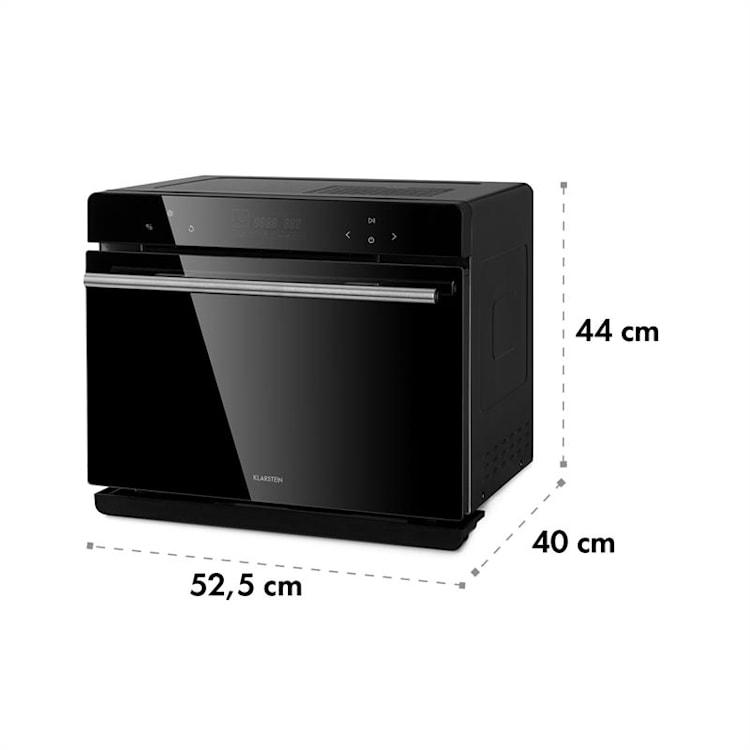 MasterFresh, gőzsütő, 230 ° C, 24 l, érintőképernyős, fekete