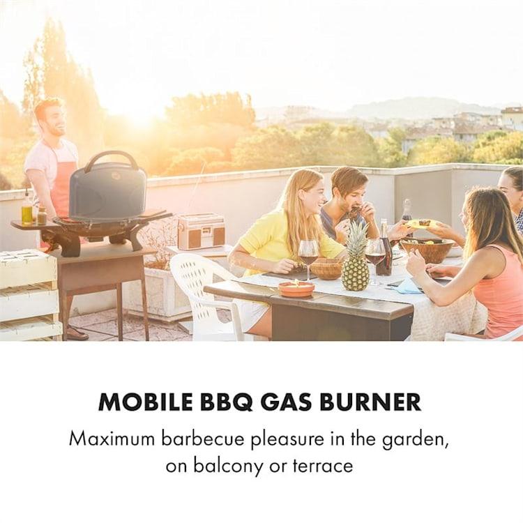 Parforce One, plinski roštilj, 3,5kW, 12000 BTU, 300 °C, InstantReady Concept, sivi Siva