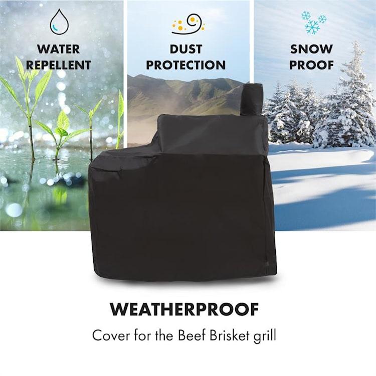Beef Brisket Wetterschutzhaube Oxford Canvas schwarz