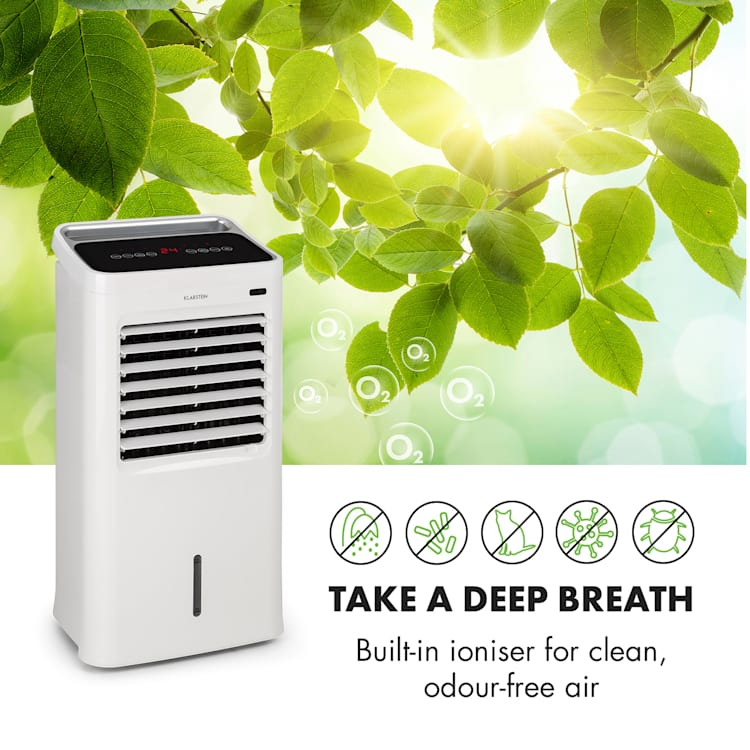 IceWind 4-in-1 Air Cooler 222 m³ / h 36.5W Timer Remote Control White