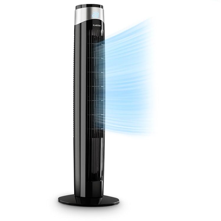 Storm Tower, ventilátor, 3 druhy vetra, 6 rýchlostí vetra, čierny Čierna
