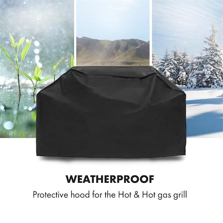 Hot & Hot Wetterschutzhaube 600D Canvas 30/70% PE/PVC schwarz