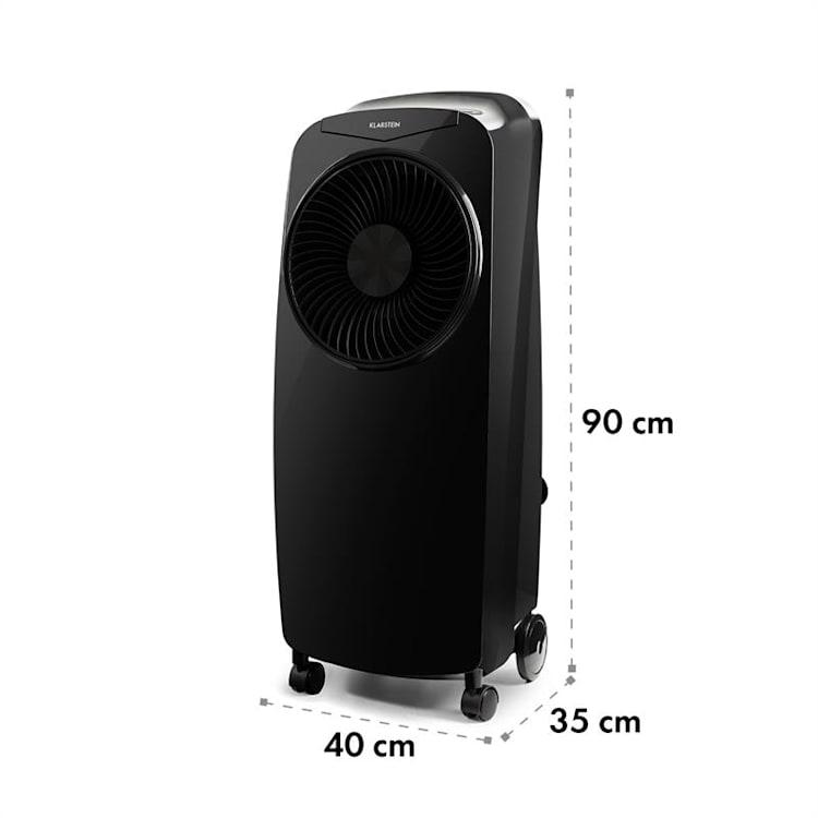 Rotator, ochladzovač vzduchu, 110 W, 8-hod. časovač, diaľkový ovládač, čierny Čierna