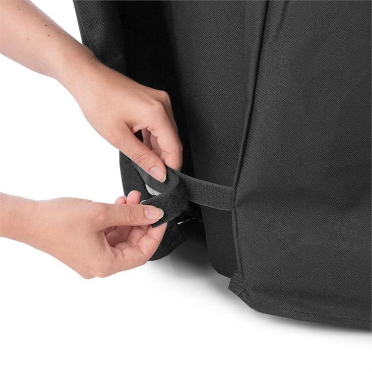 Tomahawk 3.1 Cover, zaštitni pokrivač, 300D platno, 30/70 %, PE/PVC, crni