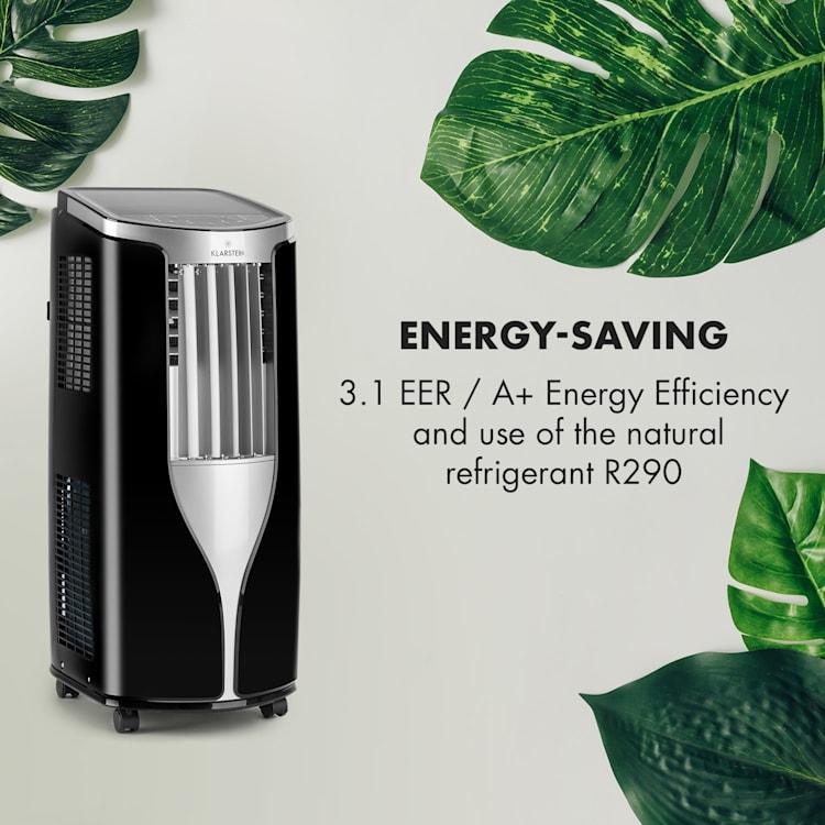 New Breeze ECO, přenosná klimatizace, 935 W, 10.000 BTU / hod. (2,9 kW), A+