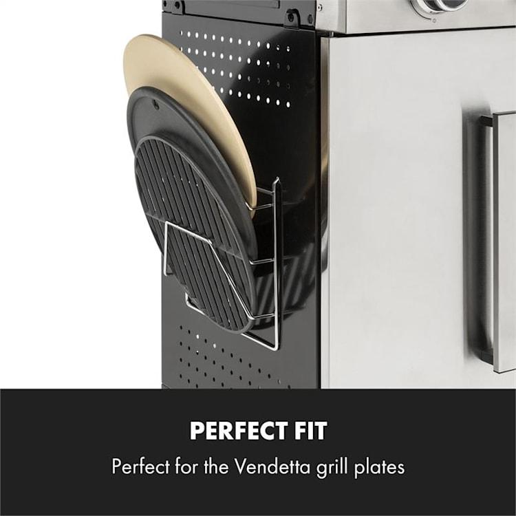 Vendetta 3.0 TI, polc, krómozott acél, egyszerűen rögzíthető, tartozék