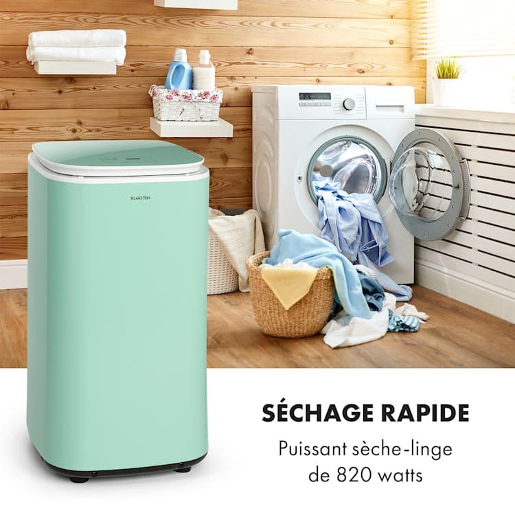 Zap Dry sèche-linge 820 W 50 l panneau de commande tactile voyants LED vert Vert